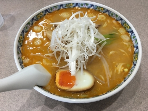 「みそらーめん(大盛)」@らーめん 麺好の写真