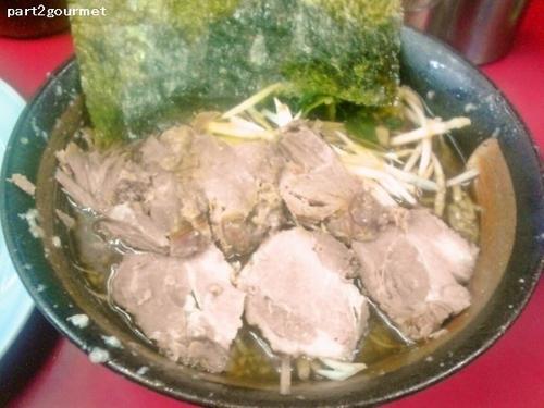 「和風ネギチャーシューメン太麺 (890円)」@ラーメンショップ 牛久結束店の写真