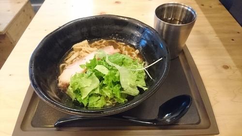 「朝醤そば(冷)」@麺場 浜虎 横浜店の写真
