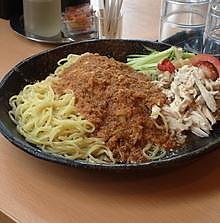 「棒棒鶏麺880円+大盛100円+焼売240円」@中華四川料理 飛鳥の写真