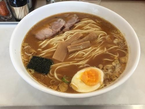 「中華そば大盛り中太麺」@浦和大勝軒の写真