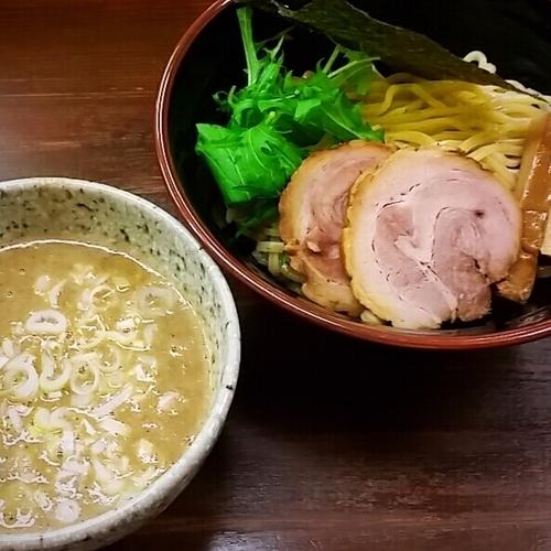 「【期間限定】濃厚煮干し豚骨つけ麺 850円」@横浜家系ラーメン 藤家の写真