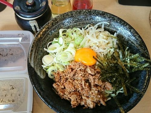 「冷しまぜそば ¥800」@麺や きたじまの写真