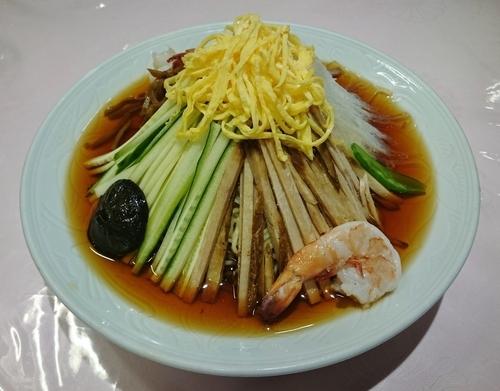 「五色涼拌(元祖冷し中華) 1510円」@揚子江菜館の写真