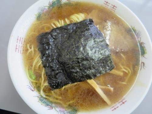 「正油ラーメン 750円」@まるたかラーメンの写真