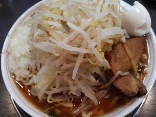 「ら~めん中(麺まし200g)」@麺屋 婆娑羅の写真