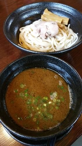 「醤油つけ麺」@らーめん 本竈の写真