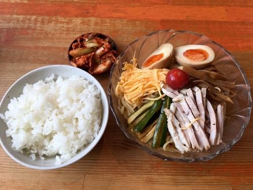 「冷麺+サービスライス+サービスキムチ∞」@京都 塩元帥の写真