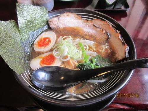 「あんじゅラーメン醤油800円」@あんじゅの写真