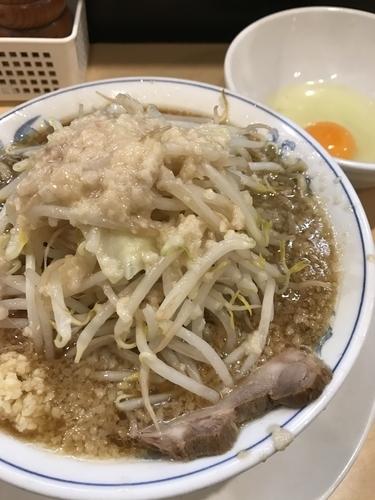 「らーめん、ニンニク、アブラ」@らーめん大 高円寺店の写真