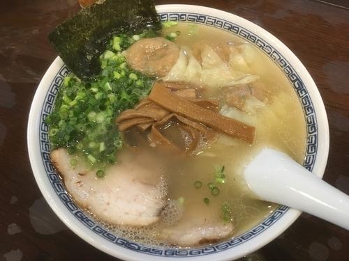 「雲呑麺1100円」@徒歩徒歩亭の写真