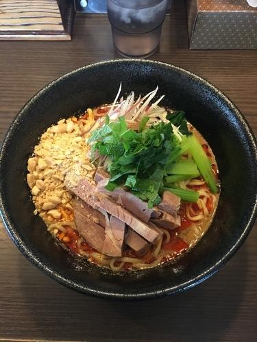 「担々麺 冷」@らーめん びし屋の写真
