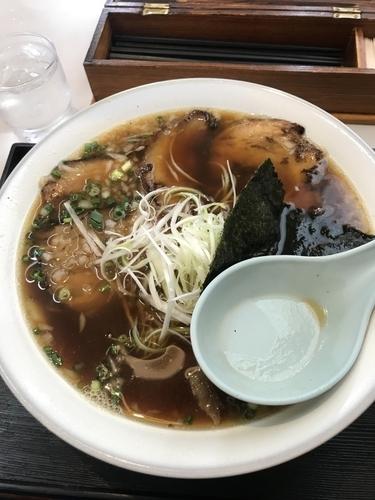 「ちゃーしゅーめん(醤油)➕大盛➕麺固め」@こだわりのらーめん めん楽亭の写真