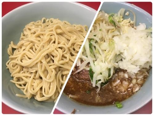 「ぎょったまつけ麺(麺少なめ、ニンニク、野菜)」@ラーメン二郎 中山駅前店の写真