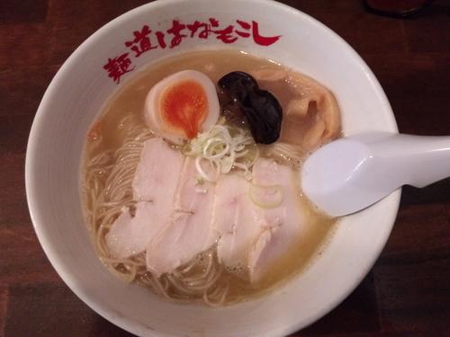 「濃厚鶏そば」@麺道はなもこしの写真