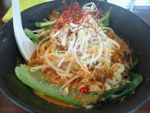 「冷し担々麺 850円」@ラーメンげんきだまの写真