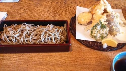 「天せいろ1800円」@蕎麦 うぶすなの写真