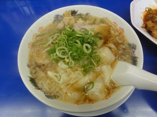「ワンタン麺」@来来亭 桂川店の写真