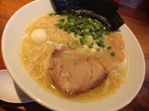 「丸鶏白湯(塩)」@一合舎の写真