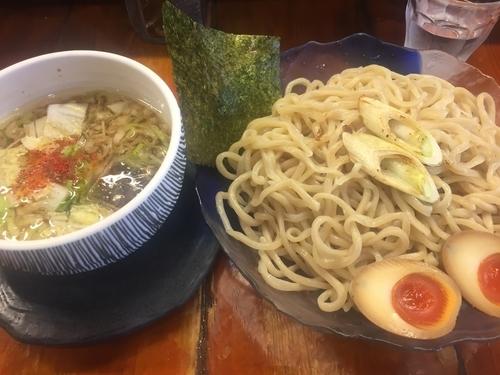 「冷やしつけ麺・大(780円)」@つけ麺 紫匠乃 門前仲町店の写真
