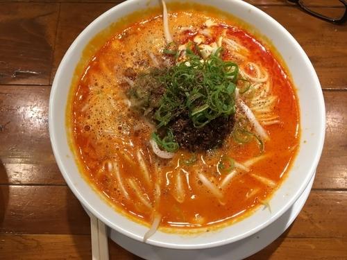 「成都担々麺(麻辣Level3)」@成都正宗担々麺 つじ田の写真