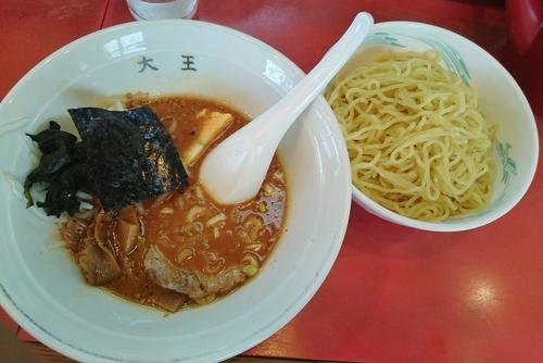 「みそ入りつけ麺 730円」@中華つけ麺大王 立石店の写真