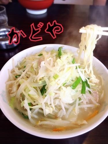 「タンメン¥550」@かどや食堂の写真