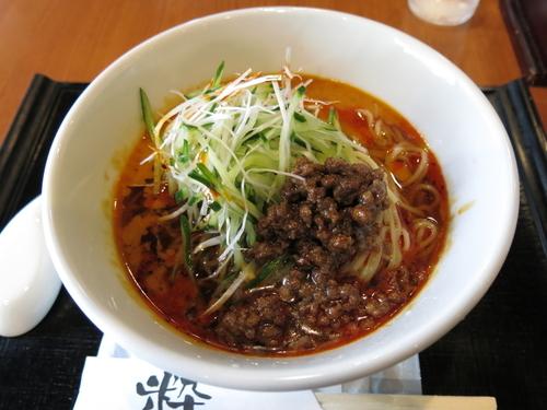 「冷汁担々麺:850円」@一番太鼓の写真