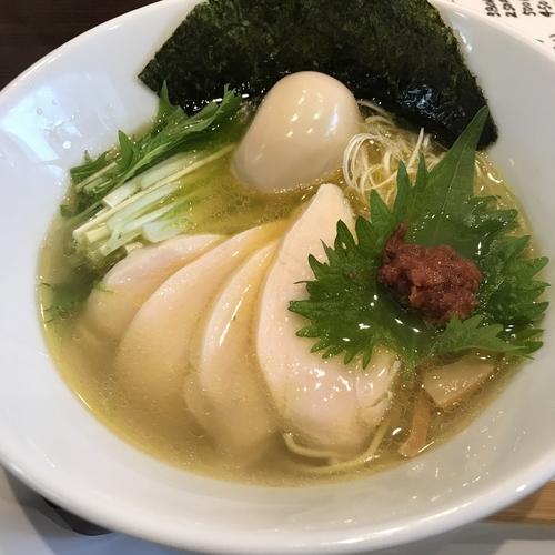 「鶏塩そば」@中華蕎麦 御輿の写真