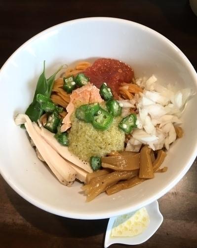 「[期間限定] 鮭とマと男と女 ¥920」@麺や 蒼 AOIの写真