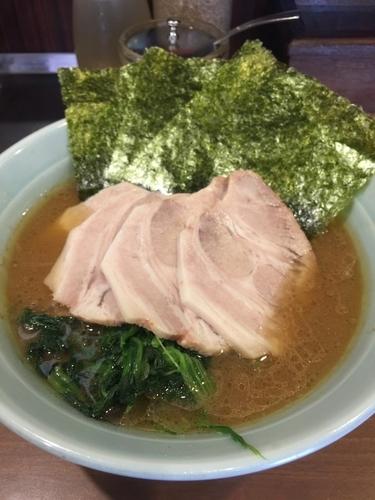 「チャーシュー麺並、硬め濃いめ」@横浜家系ラーメン 五十三家の写真