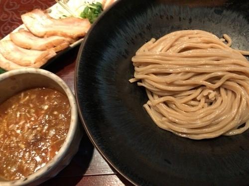 「焼豚つけ麺」@つけ麺 繁田の写真