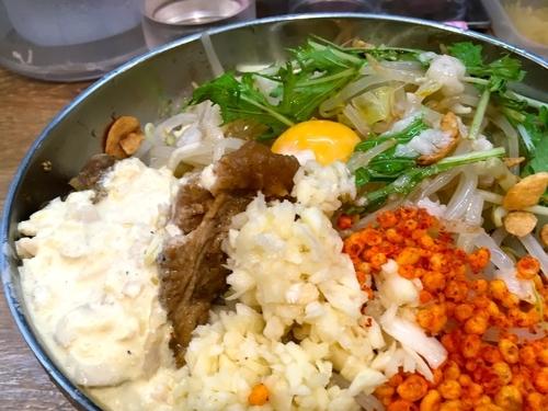 「冷やし中華」@野郎ラーメン 恵比寿西口店の写真