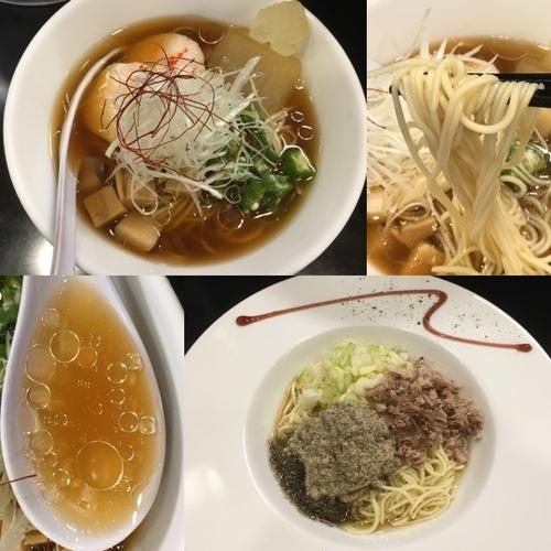 「煮干中華そば 冷STAGE +CONTINUE」@煮干中華そば のじじの写真