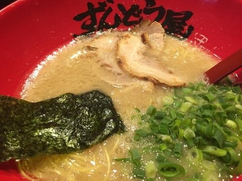 「元らーめん 細麺 こってり」@ラー麺 ずんどう屋 梅田店の写真