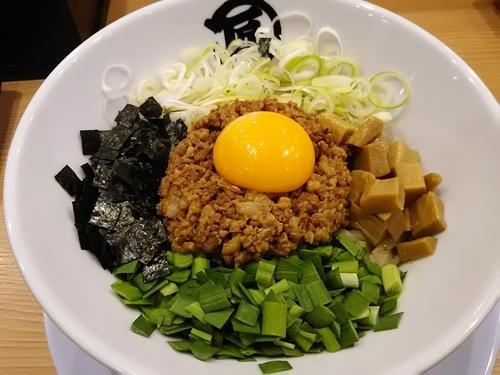 「台湾塩まぜそば¥780」@麺や マルショウ 新なにわ大食堂店の写真