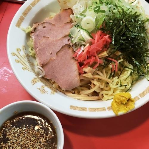 「【夏季限定】冷やし中華つけ麺」@一龍の写真
