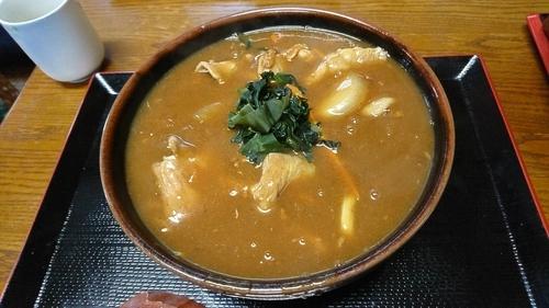 「カレーうどん 600円」@こいずみ食堂の写真