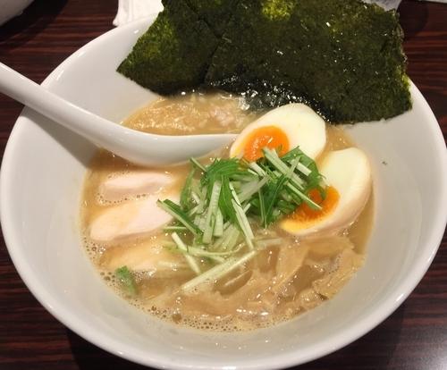 「濃厚鶏白湯ラーメン醤油+特製トッピング(¥780+¥200)」@麺屋 わかの写真