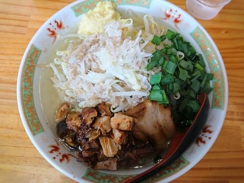 「潮風二郎(ショウガ、アブラ)」@中華麺酒家 からっ風の写真