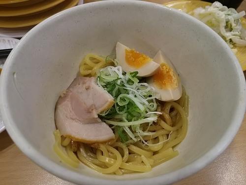 「【期間限定】かっぱの油そば」@かっぱ寿司 豊科店の写真