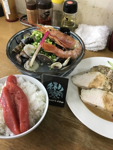 「【初夏の一杯】 冷やし貝汁潮仕立て B」@MENYA 食い味の道有楽の写真