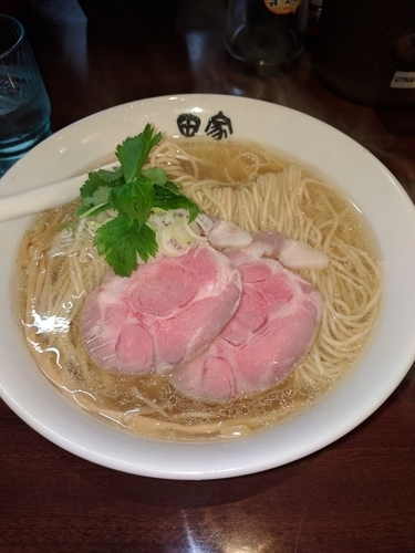 「煮干塩 大盛り(680円+100円)」@中華そば田家 ふくふくの写真