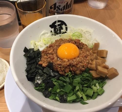 「台湾まぜそば」@麺や マルショウ 新大阪店の写真