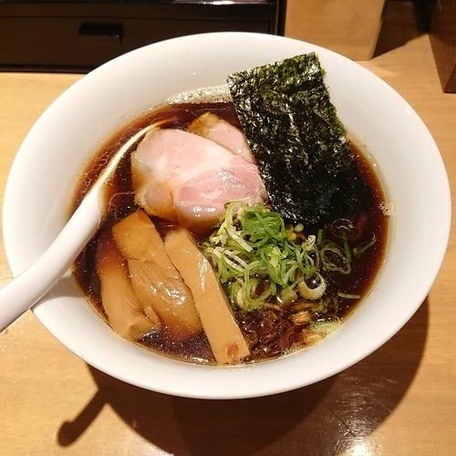 「黒醤油  @800円」@ふじ屋 NOODLEの写真