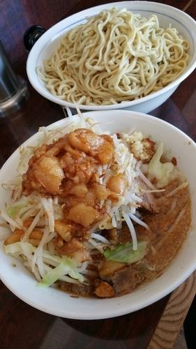 「大つけ麺」@ラーメン二郎 めじろ台店の写真