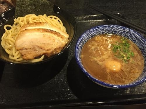 「濃厚魚介つけめん 中盛 特製トッピング」@麺屋 中川會 錦糸町店の写真