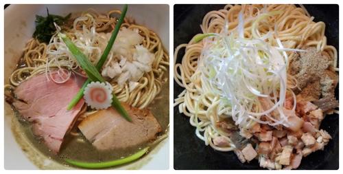 「濃密な煮干しそば+和え玉」@中華そば いづるの写真