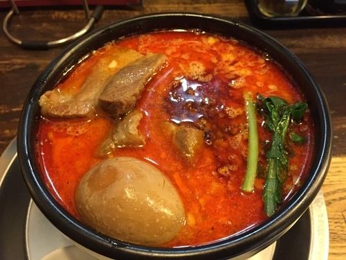「たんや特製坦々麺(辛口)味玉子角煮のせ」@麺・飯場 たんやの写真
