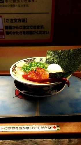 「特製豚王 駒葱」@ラーメン凪 大宮店の写真